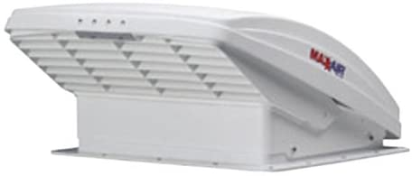 Van Build Ganesh Build AC Unit and Vent Fan Maxx-Air 00-05100K Maxxfan Ventilation Fan White